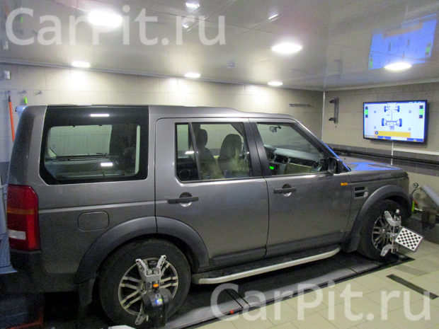 Сход-развал Land Rover Discovery 3 - 1