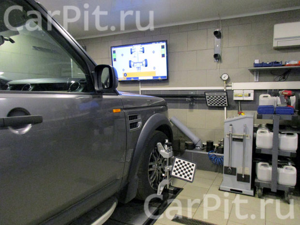 Сход-развал Land Rover Discovery 3 - 2