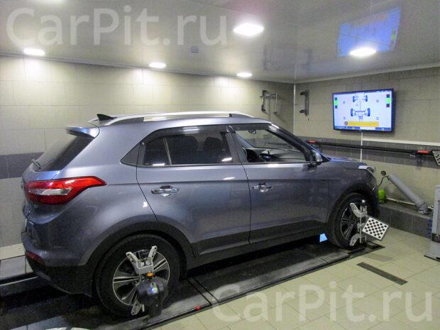 Сход-развал Hyundai Creta