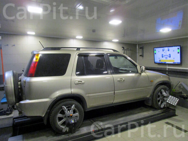 Сход-развал Honda CRV
